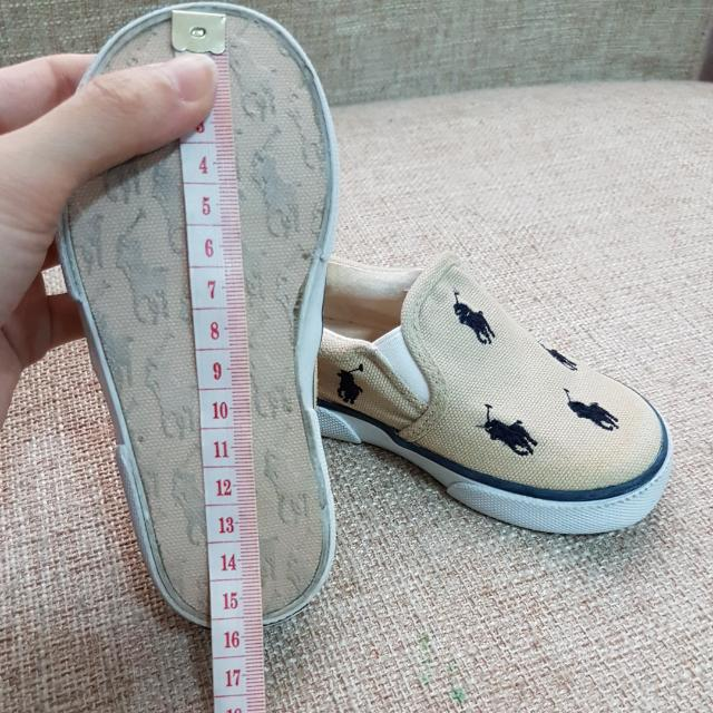 Authentic Polo Ralph Lauren Kids Baby Boys Girls Shoes Slip Ons Size Us 7 Slight Yellow Stains Babies Apparel On Carou