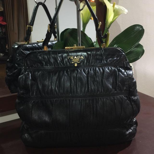 2b5b386d2a65 Authentic Prada Nappa Gaufre, Women's Fashion, Bags & Wallets on ...