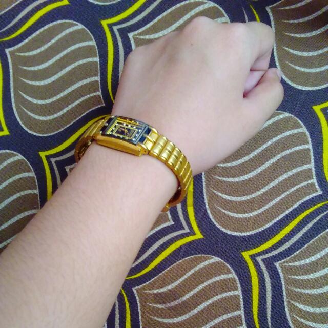 Authentic Swistar 22k Gold Watch