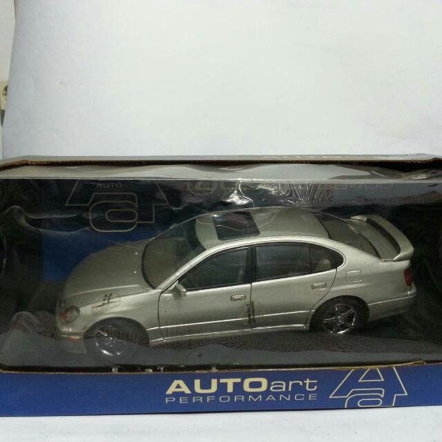 Die Cast Mobil Auto art Lexus GS 400