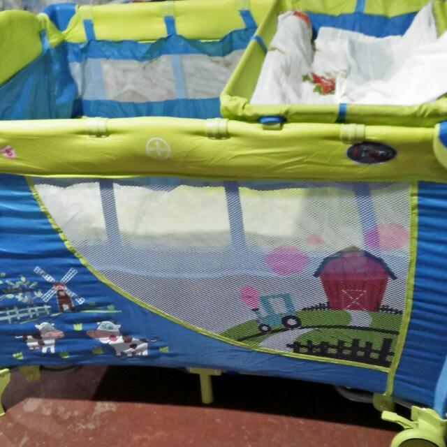 Baby Crib Big Size