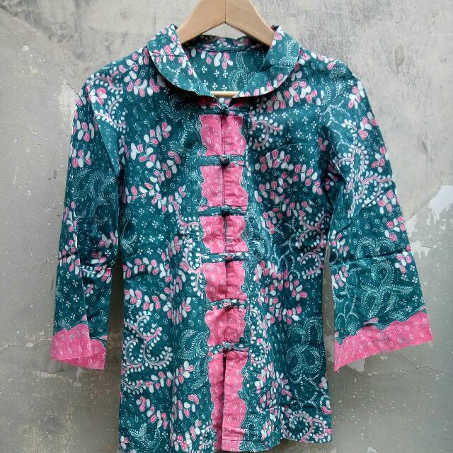 Batik shanghai tosca