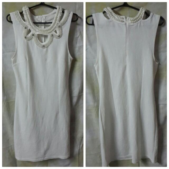 Beaded Bodycon Dress