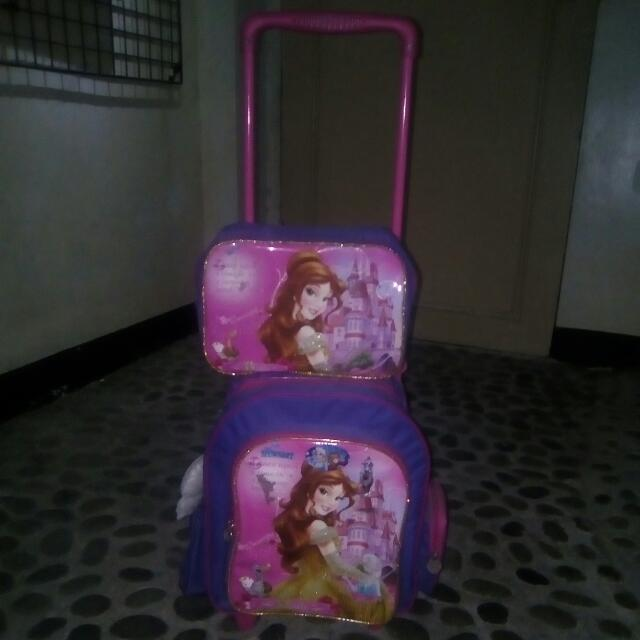 Belle Trolley Bag For School