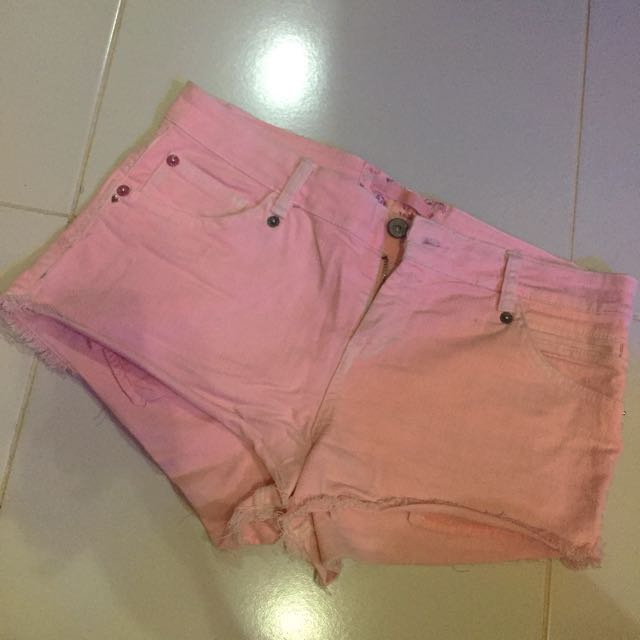 Bershka Short Pink