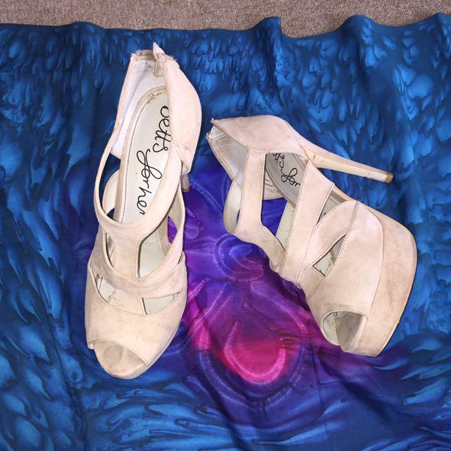 Betts Creame Heels