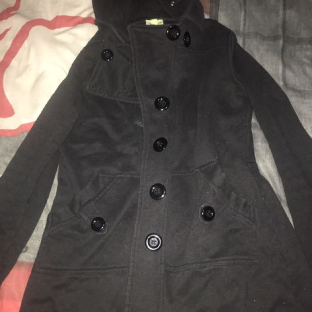 Black Avocado Winter Coat