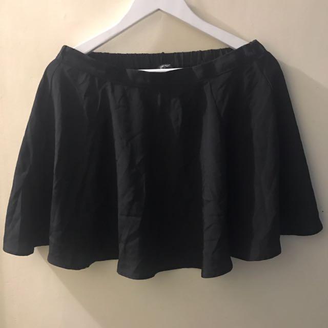 Black High Waisted Skirt