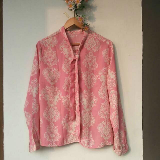 [REPRICE] Blouse Pink
