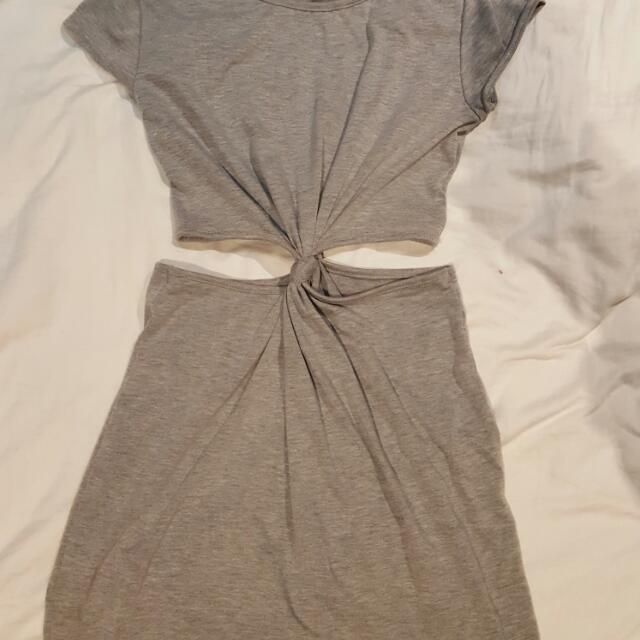 Boohoo Cut Out Dress