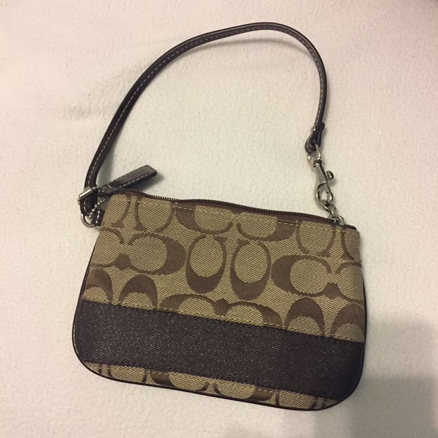 Authentic Brand New Coach Clutch