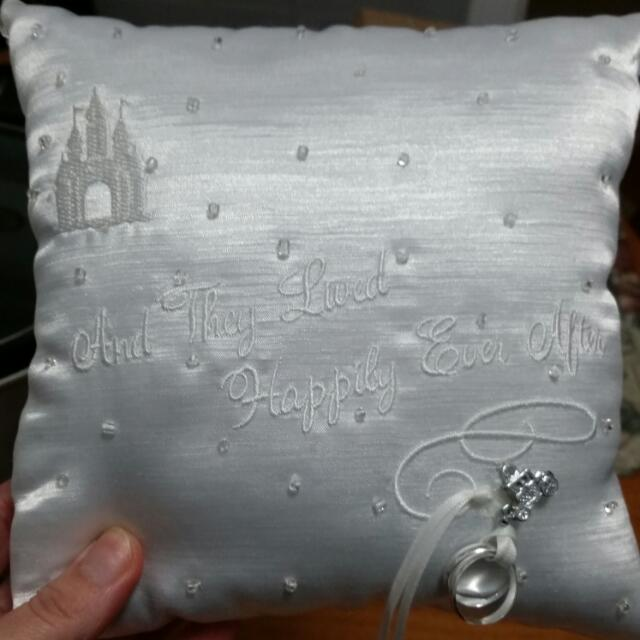 Brand New Ring Pillow