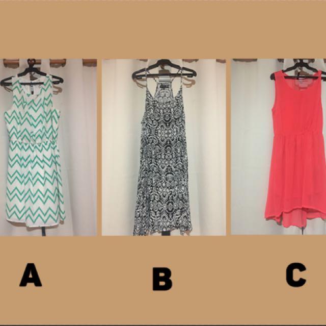 Branded Dresses at 250 Pesos, Batch 1