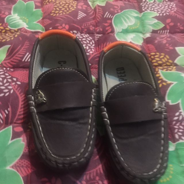 brown baby shoes for 1-3 years old