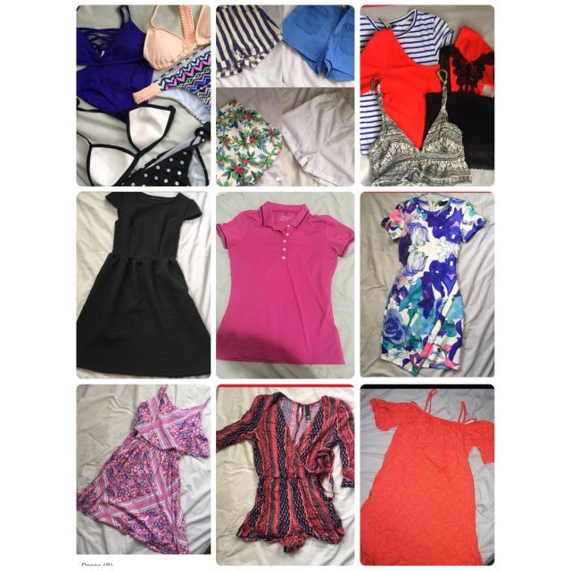Bulk Ladies/ Women's Clothes + Activewear Gym