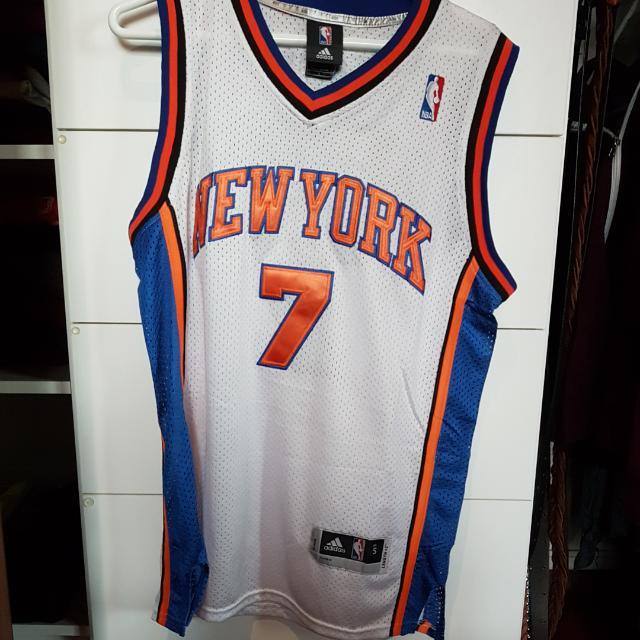 Carmelo Anthony Adidas Replica Home Jersey