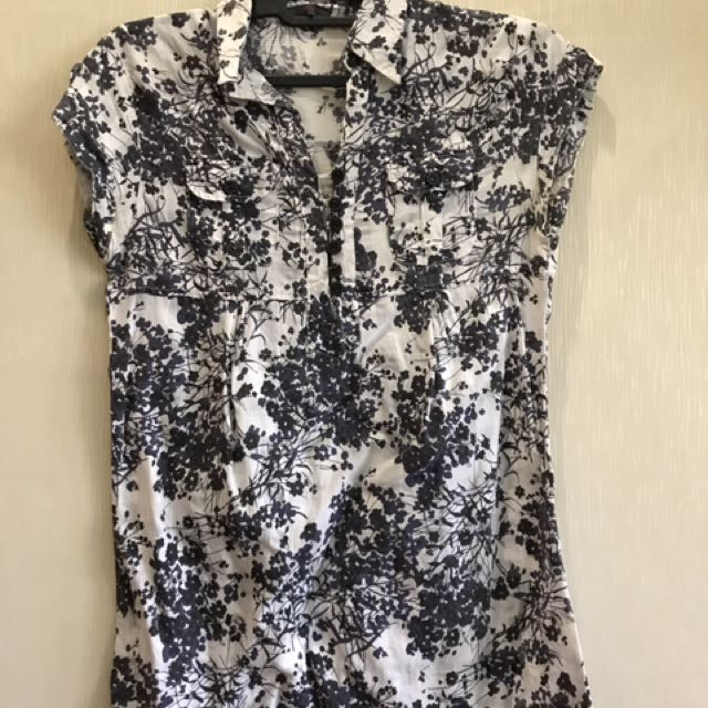 Chic Simple Flowery Top
