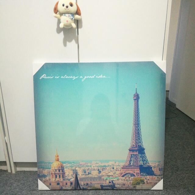 Classic Paris Canvas