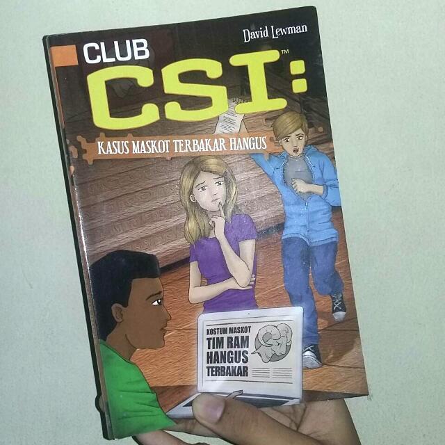 CLUB CSI : Kasus Maskot Terbakar Hangus