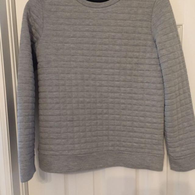 Club Monaco Quilted sweatshirt - Size XS