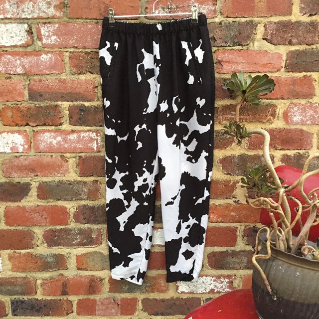 Cow Print Zara Pants
