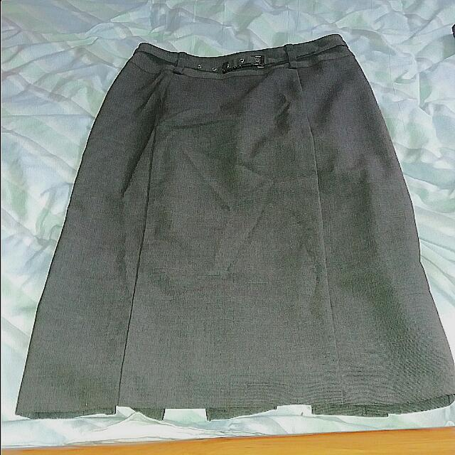 Cue Pencil Skirt Brown