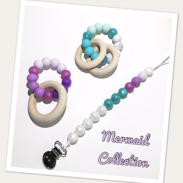 Custom Teething accessories