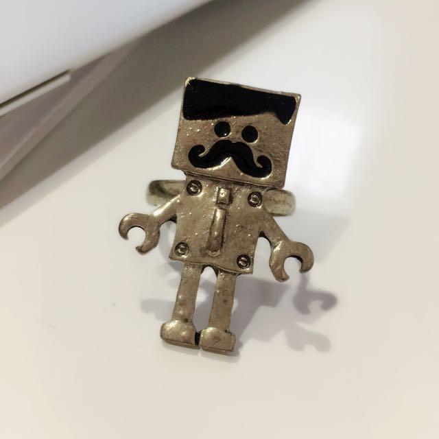 Cute Antique Robot Ring😊