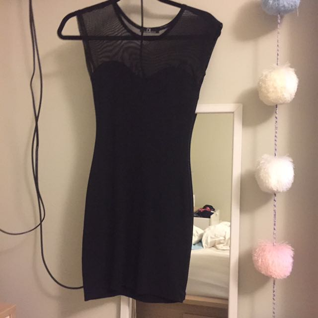 REDUCED!! David Lerner Bodycon Dress with mesh