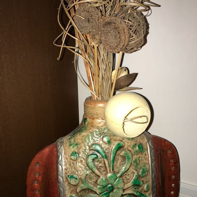 Decorative Clay Vase