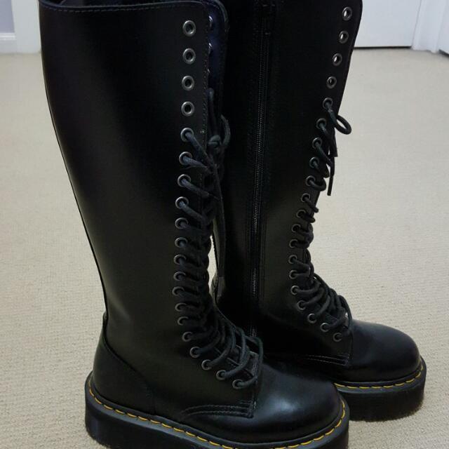 Doc Martens Ladies Knee High Boots