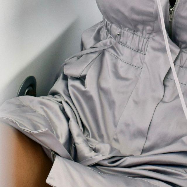 Dolce & Gabbana Metallic Trench Coat