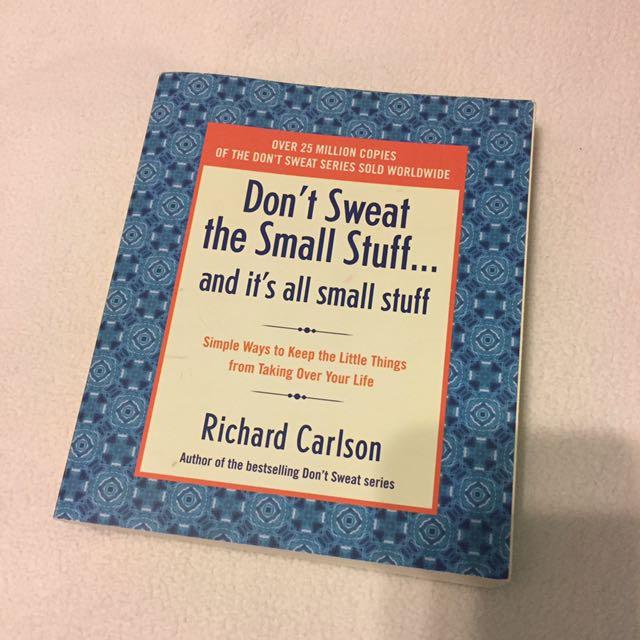 Don't Sweat The Small Stuff Book