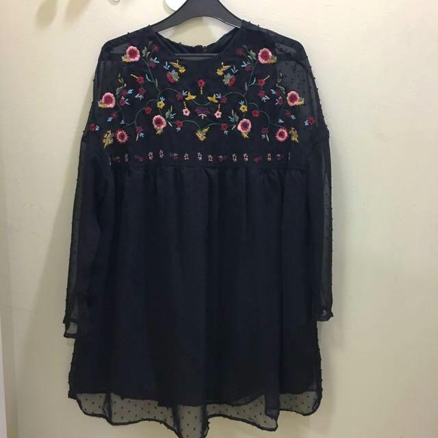 🔅Dress - Floral long sleeve