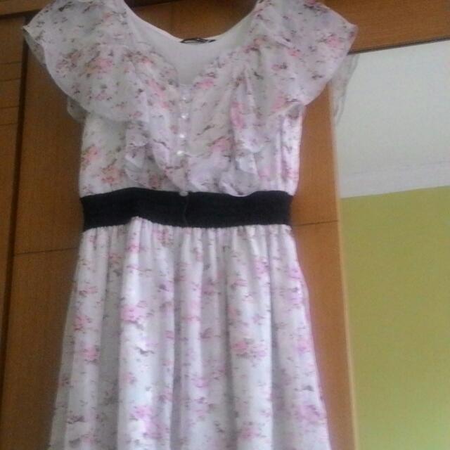 Dress Flower Cantik