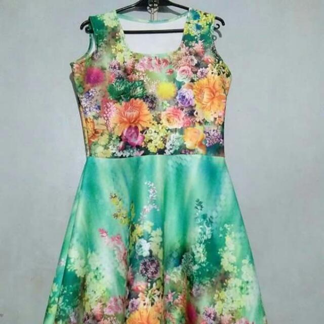 Floral Dress Midi