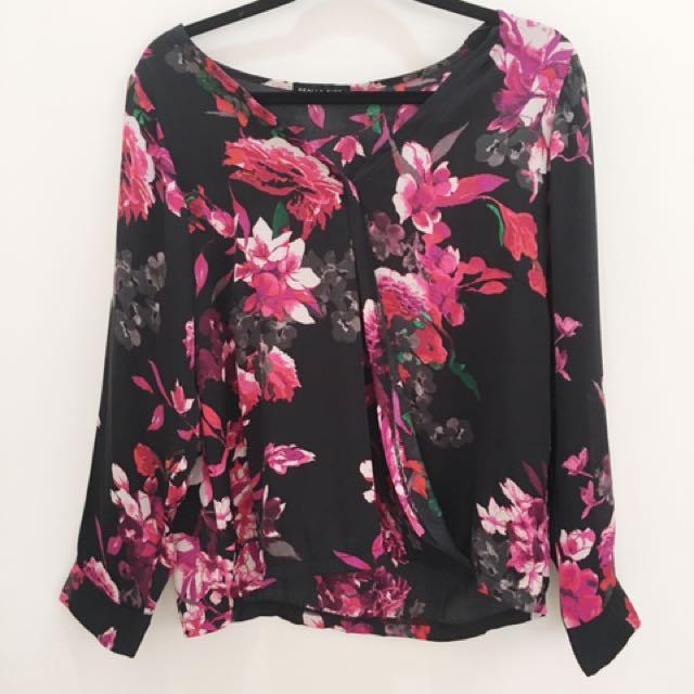 Floral Loose Shirt