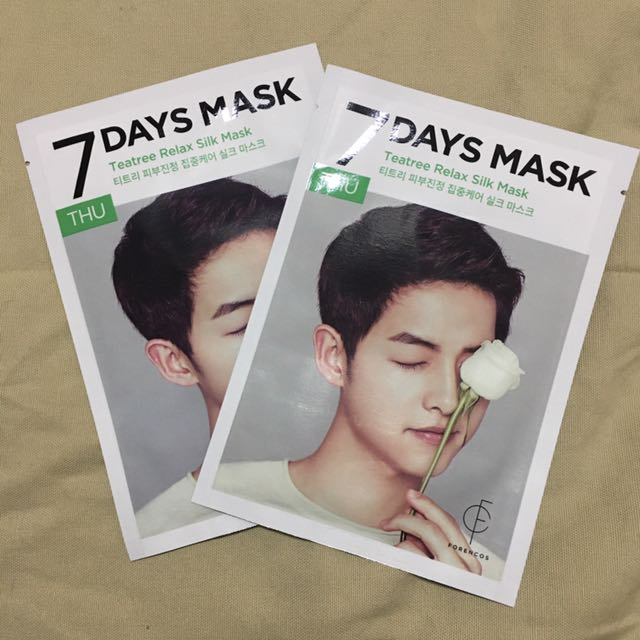 Forencos 7 Days Mask in Teatree Relax Silk Mask