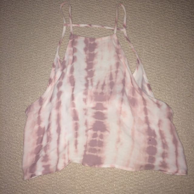 Forever 21 Backless Crop Top