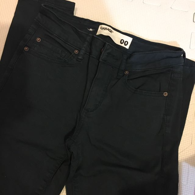 Garage dark green Pants