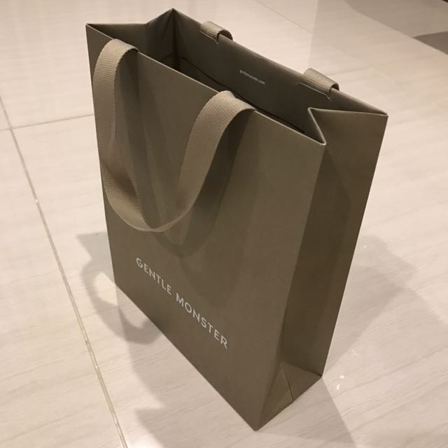 5764313e7ca Gentle Monster Paper Bag Made In Korea