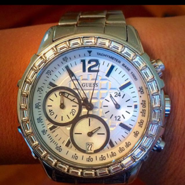 Genuine GUESS watch Silver