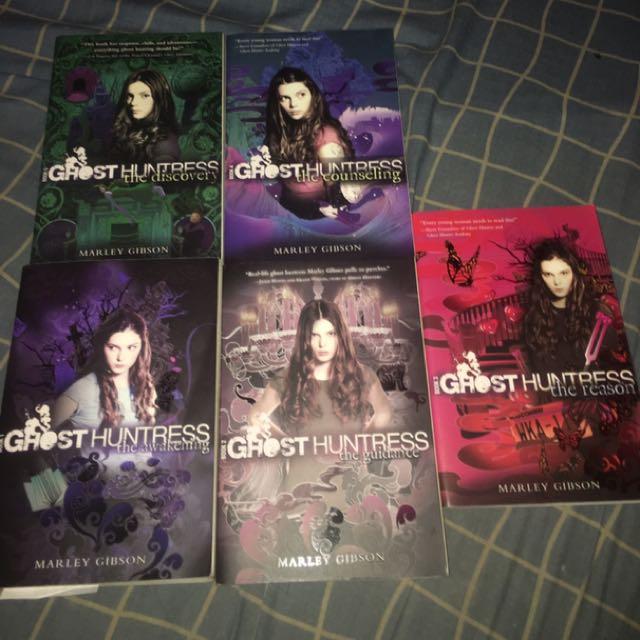 Ghost Huntress series