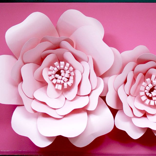 Giant paper flower design craft handmade craft on carousell mightylinksfo