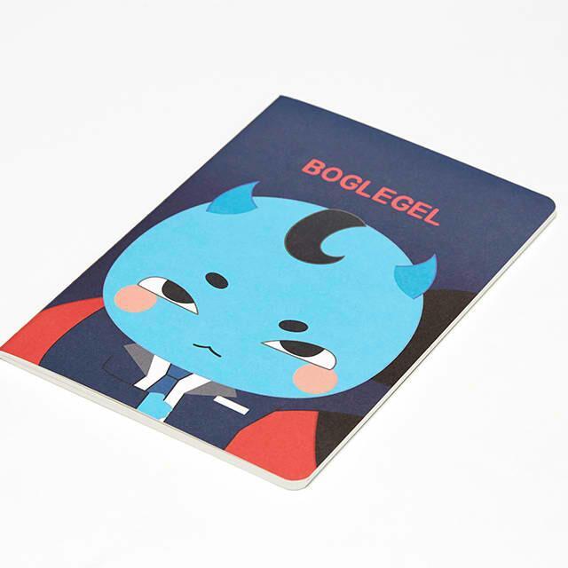 Goblin Notebook (Blue Boglegel)