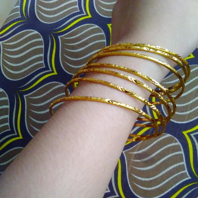 Gold Bangles From US