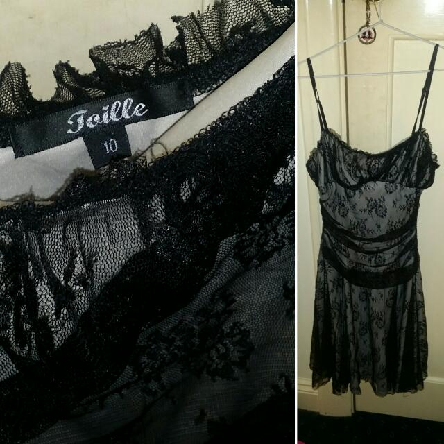 Gorgeous Joille Dress Size 10 In Excellent Condition