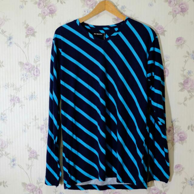 G-Rock diagonal stripe shirt