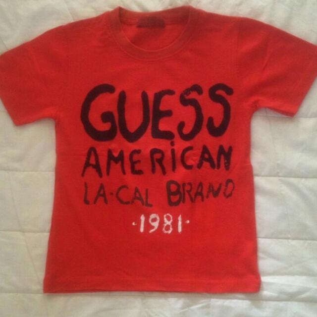 GUESS Red Tee