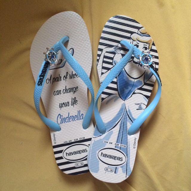 Havaianas Disney公主系列拖鞋